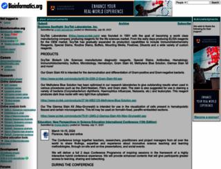 bioinformatics.org screenshot