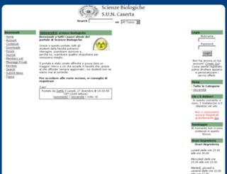 biologiacaserta.altervista.org screenshot