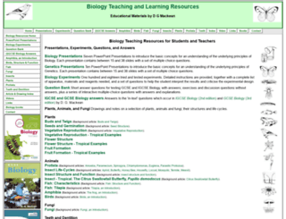 biology-resources.com screenshot
