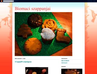 biomaciszappan.blogspot.ie screenshot