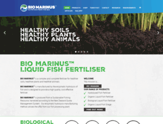 biomarinus.co.nz screenshot