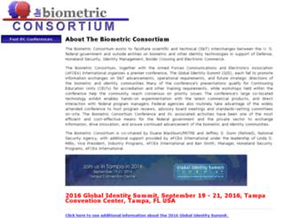 biometrics.org screenshot