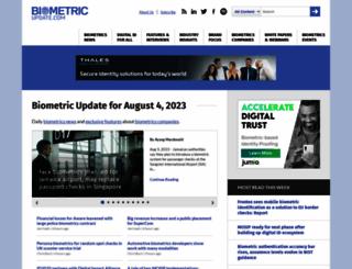 biometricupdate.com screenshot