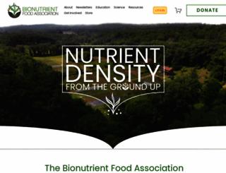 bionutrient.org screenshot