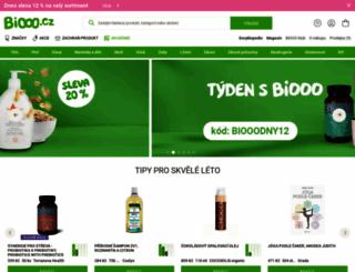 biooo.cz screenshot