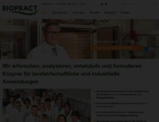 biopract.de screenshot
