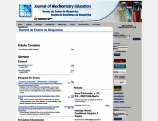 bioquimica.org.br screenshot