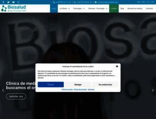 biosalud.org screenshot