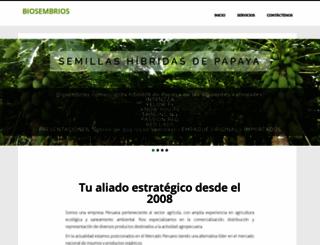 biosembrios.com screenshot