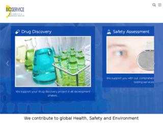 bioservice.com screenshot