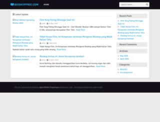 bioskopfree.com screenshot
