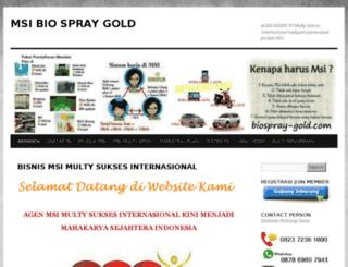 biospray-gold.com screenshot