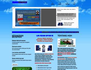 biospray-hgh.com screenshot