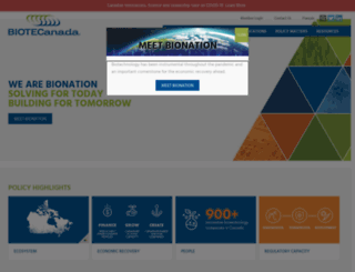 biotech.ca screenshot
