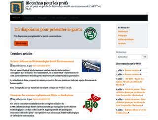 biotechno.fr screenshot
