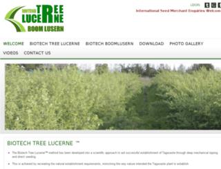biotechtreelucerne.com screenshot