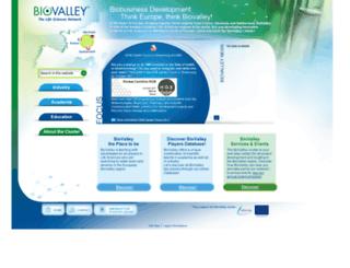 biovalley.com screenshot