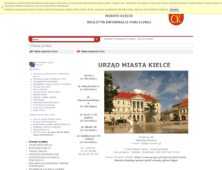 bip.kielce.eu screenshot