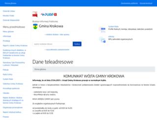 bip.krokowa.pl screenshot