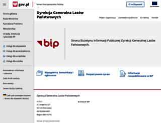 bip.lasy.gov.pl screenshot