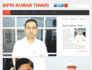 bipintiwari.com screenshot