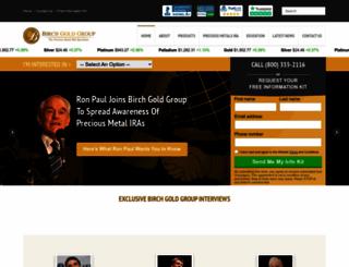 birchgold.com screenshot