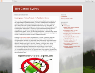 bird-control-sydney.blogspot.com.au screenshot