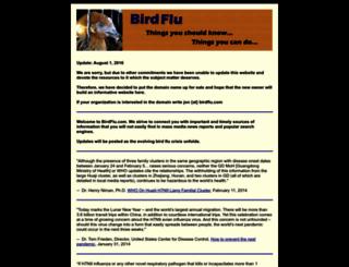 birdflu.com screenshot