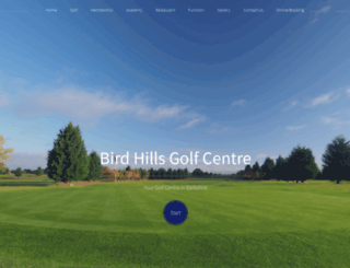 birdhills.co.uk screenshot