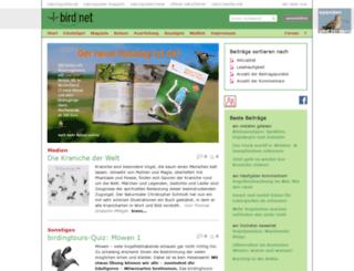 birdnet-cms.de screenshot