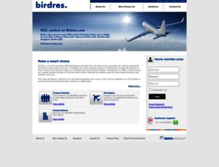 birdres.com screenshot