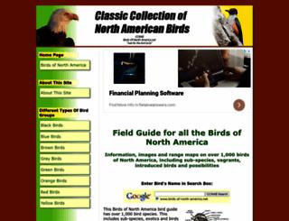 birds-of-north-america.net screenshot