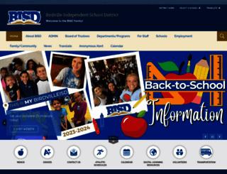 birdvilleschools.net screenshot