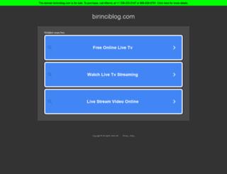 birinciblog.com screenshot