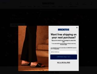 birkenstockusa.com screenshot
