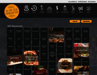 birminghammenus.com screenshot