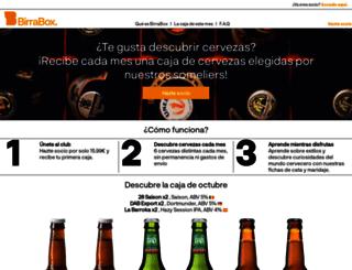 birrabox.com screenshot