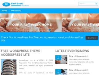 birthboard.com screenshot