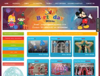 birthdaybless.com screenshot