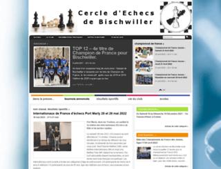 bischwiller-echecs.com screenshot