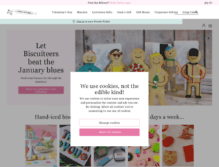 biscuiteers.com screenshot
