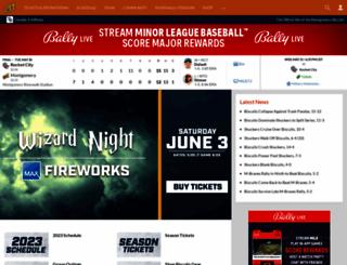 biscuitsbaseball.com screenshot