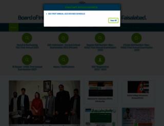 bisefsd.edu.pk screenshot