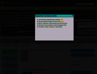 biselahore.com screenshot
