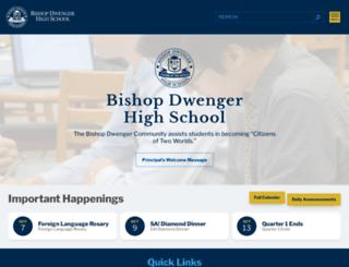 bishopdwenger.com screenshot