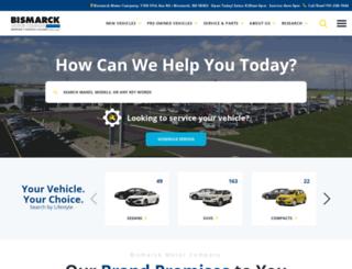 bismarckmotorcompany.calls.net screenshot