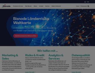 bisnode.at screenshot