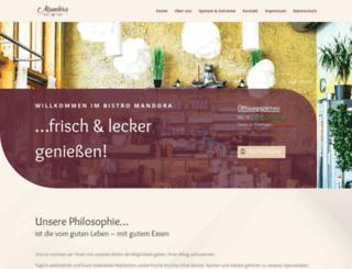 bistro-mandora.de screenshot