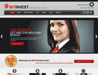 bit-invest.com screenshot