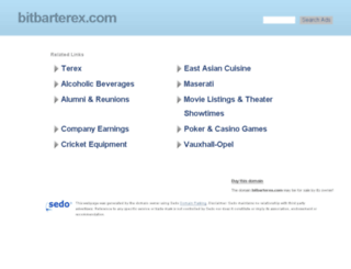 bitbarterex.com screenshot